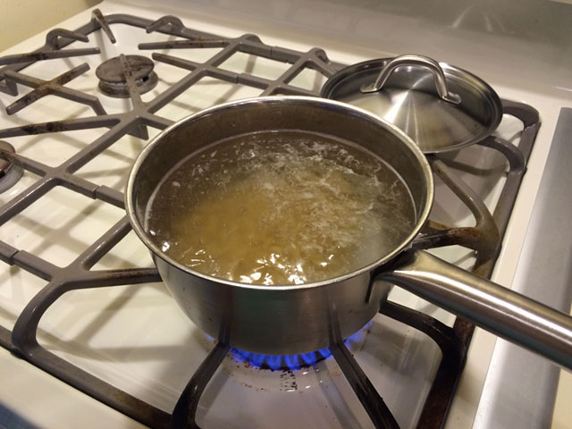 Boil your pasta